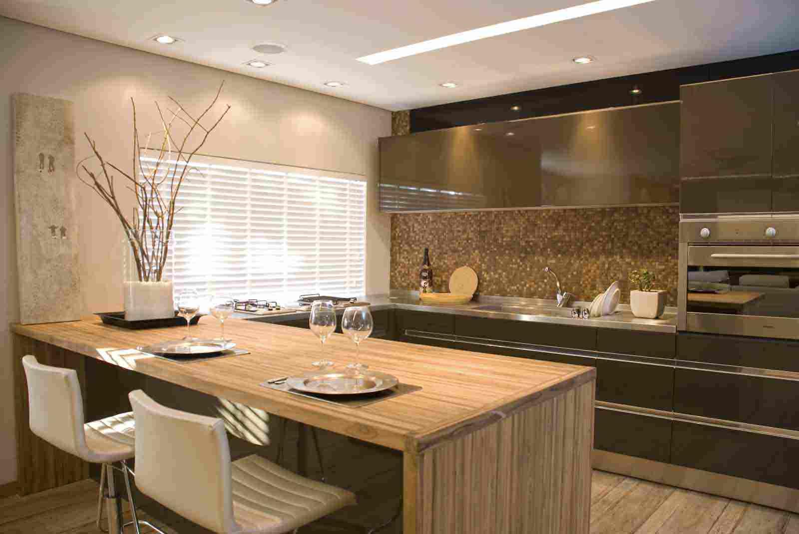 Cozinha Planejada Luxo Cozinha Planejada Com Ilha Central With